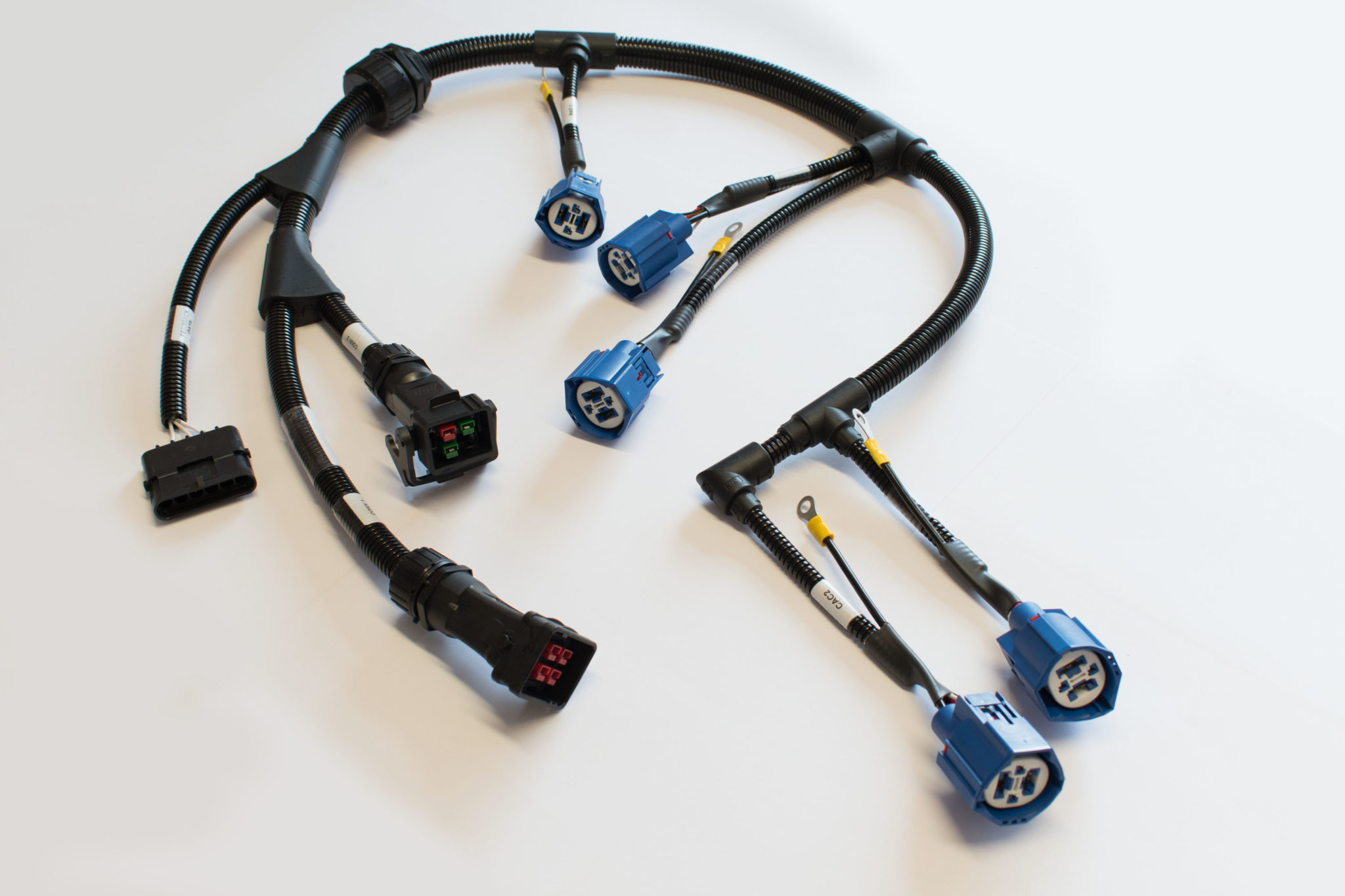 Our specialist wiring looms/harnesses range from simple switch control  circuits to complex, multi circuit vehicle harnesses complete with sensor  and ...